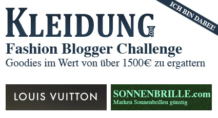 Fashion Blogger Challenge 2012 powered by Kleidung.com