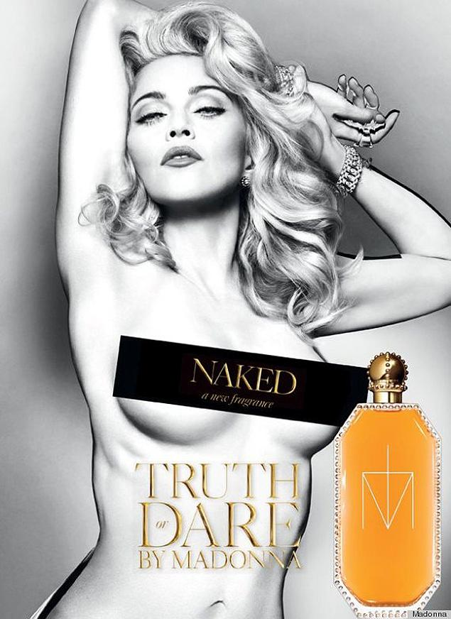 Truth or Dare by Madonna Naked – Madonnas neues Parfum